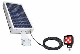 emergency lighting battery life expectancy 25w solar powered pedestrian warning led light 860 lumens 1