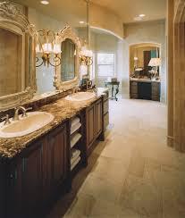 denver walnut vanity bathroom transitional with dark wood cabinets