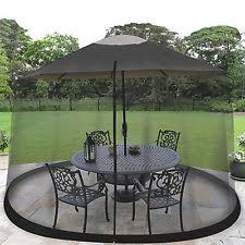 Mosquito Netting For Patio 9 Ft Outdoor Patio Table Umbrella Bug Screen Mosquito Net Zippered