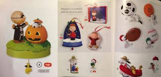 hallmark 2016 peanuts ornaments sneak peek