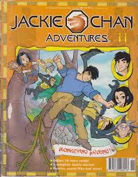 jackie chan adventures magazine 11 jackie chan adventures wiki