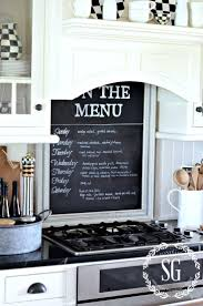 Chalkboard Ideas For Kitchen by Best 25 Farmhouse Menu Ideas On Pinterest Countertop Decor