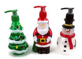 themed soap dispenser christmas themed soap dispensers