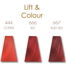 Red Colour Shades Keune Lift U0026 Colour Shades Color Charts Pinterest Color Shades