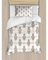 tattoo bedding queen new savings on hamsa twin size duvet cover set middle eastern