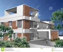 3d modern duplex house stock illustration image 47284160 3d duplex house stock photo