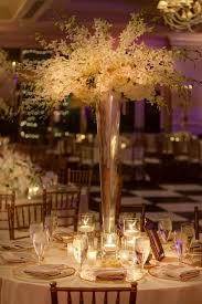 Large Martini Glass Centerpieces by Tall Flower Wedding Centerpieces Tall Martini Glass Centerpieces