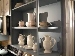 kitchen shelving ideas how to build open old style kitchen shelves hgtv
