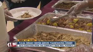 tulsa center serves thanksgiving dinner