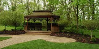 outdoor wedding venues cincinnati pattison lodge and gazebo for a potential reception venue