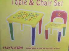 childrens plastic table and chairs children s plastic tables and chairs ebay