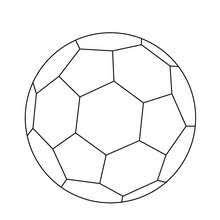 soccer ball coloring pages hellokids