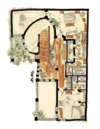 fairy tale floor plans fantasy house plan hansel floor plan