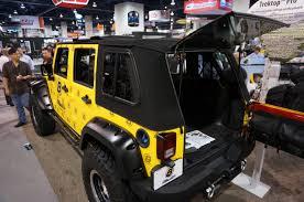 jeep soft top open bestop announces the trektop pro quadratec
