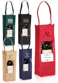 gift bags in bulk custom printed wine bottle carrier gift bags with clear window