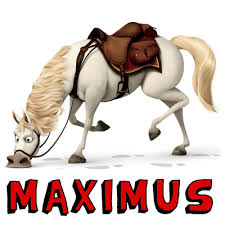 draw maximus horse tangled easy steps