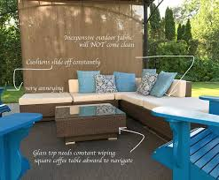 How To Clean Outdoor Furniture Cushions by How To Get One More Season From Your Patio Furniture Before U0026 After