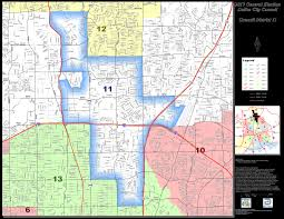 Dallas Map by Map Of District 11 Lee M Kleinman