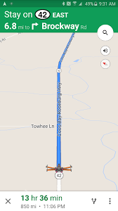 Googlle Maps Google Maps Für Android Kann Ziele Voraussagen U203a Pocketnavigation