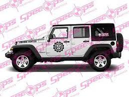 zombie hunter jeep hunter vehicle team skull kit vinyl decal stickers jeep