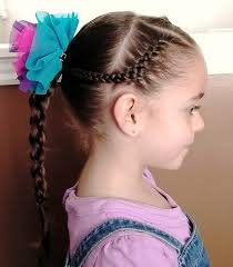hair styles for small necks sweet chearleading hairstyles for little girls