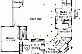 mediterranean house plans with courtyards 13 mediterranean courtyard house plans design mediterranean