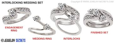 the secrets wedding band interlocking wedding sets and bridal rings jewelry secrets