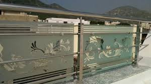 stainless steel railing with glass hindi urdu india hd youtube