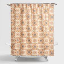Threshold Medallion Shower Curtain by Medallion Julianna Shower Curtain World Market