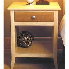 woodworking project paper plan to build maple u0026 cherry nightstand