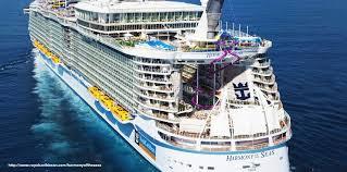 royal caribbean harmony of the seas royal caribbean s harmony of the seas is the largest cruise ship at