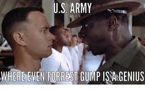 Forrest Gump Memes - us army where emen forrest gump 15 genius forrest gump meme on me me