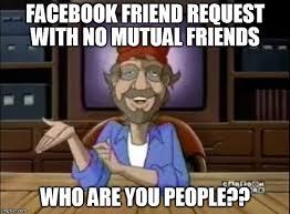 Facebook Friends Meme - questioned steven imgflip