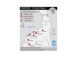Map Of Cameroon Document Map Far North Region Of Cameroon