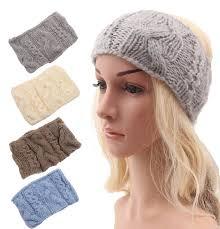 headband ear warmer winter women knitted headband ear warmer headband turban style
