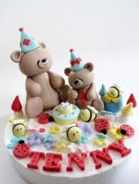 teddy bears picnic birthday cake imaginative icing more at
