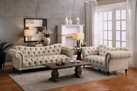 Brown Fabric Sofa Set St Claire Sofa Light Brown By Homelegance