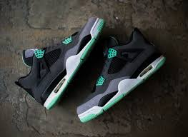 green glow 4 air iv green glow sneakernews