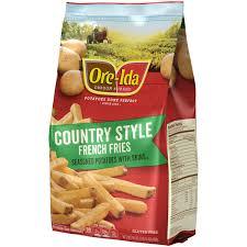 ore ida country style french fries 30 oz bag walmart com