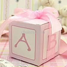 baptism favor boxes baby shower cubic favor box birthday party christening baptism