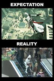 Assassins Creed Memes - assassins creed memes its the future leap of faith