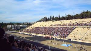 Rio Olympic Venues Now Athens Greece Olympic Flame At Panathenaic Stadium Olympic
