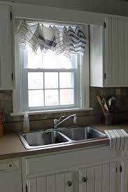 Kitchen Sink Curtain Ideas Black Brush Stroke Modern Kitchen Curtains U2013 Modern House