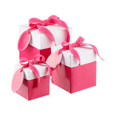 gift box pink pop up gift boxes the container store