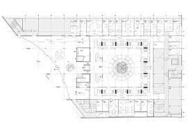 civic center floor plan civic center in st germain en laye by atelier 9 portes philippe