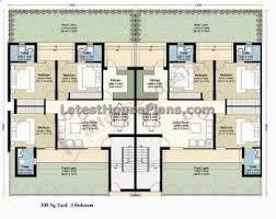 3 floor house plans rectangle shape 3 floor building outer steps elevations