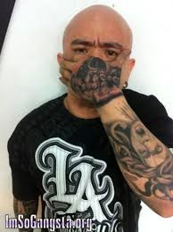gangsta skull tattoo on hand for tough guys tattoos book