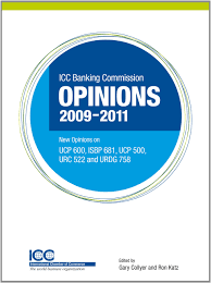 icc banking commission opinions 2009 2011 new opinions on