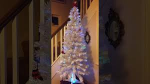white fibre optic tree 6ft