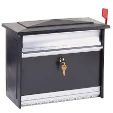 home decor tempting wall mount mailboxes with gibraltar mailboxes